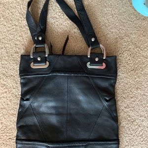 b. makowsky Bags - Genuine leather Black large Tote Makowsky NWOT